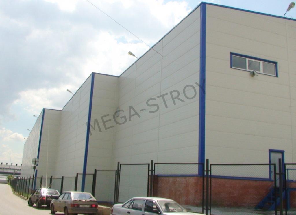 МЕГА-СТРОЙ – cкладской комплекс MEGAGROUP Модуль №50