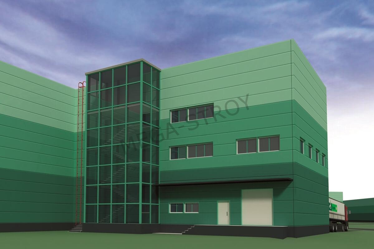 МЕГА-СТРОЙ – производственно-логистический комплекс «Северное Домодедово» (2-я очередь)