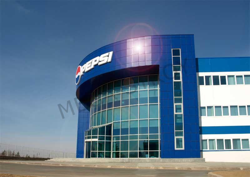 МЕГА-СТРОЙ – завод безалкогольных напитков PEPSI (2 очередь)