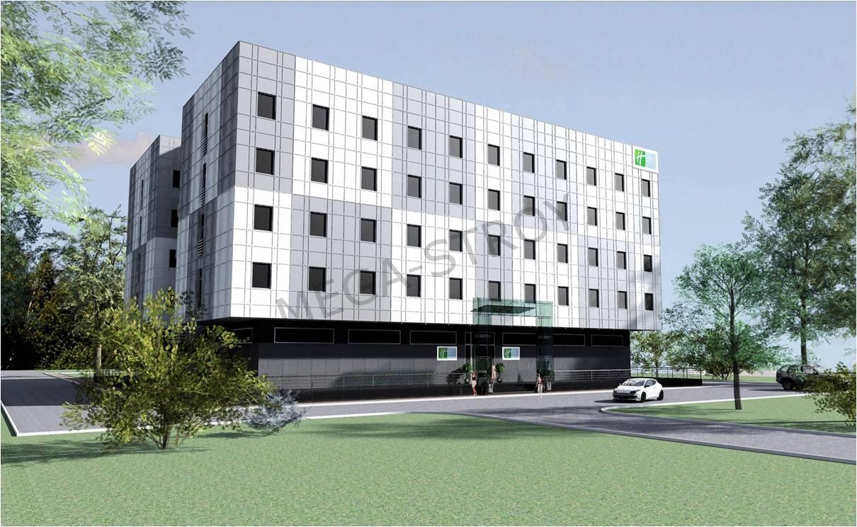 МЕГА-СТРОЙ – Проект гостиницы сети HOLIDAY INN