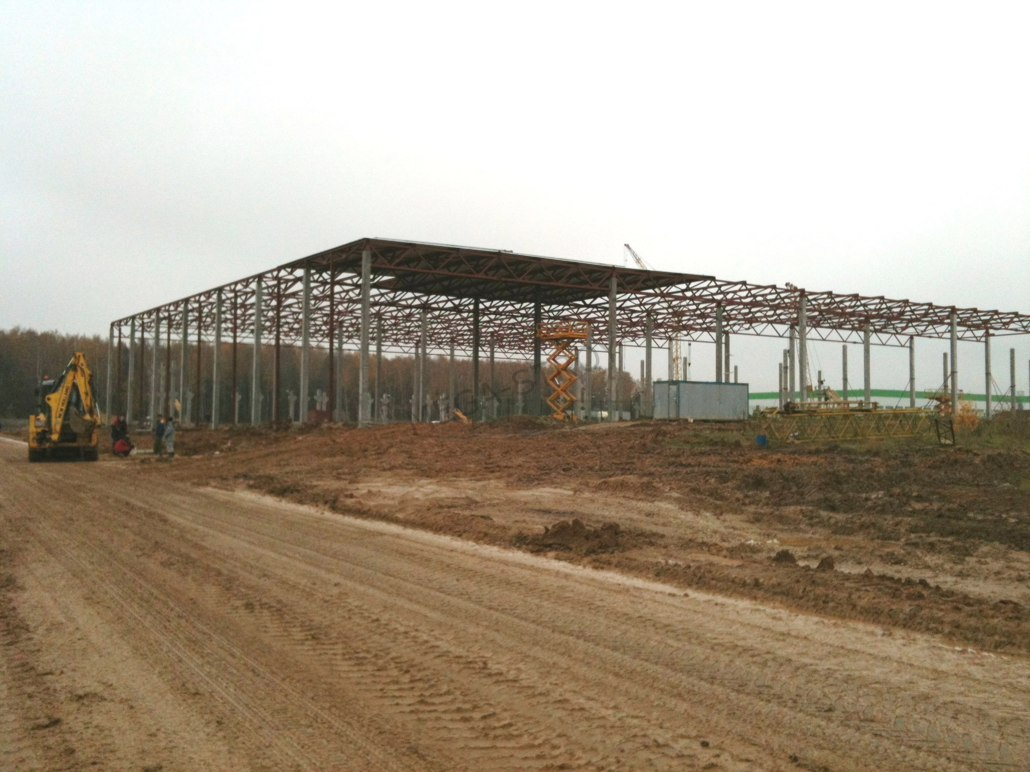 МЕГА-СТРОЙ – распределительный центр для компании DECATHLON