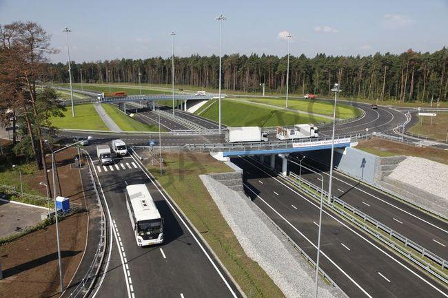 «Мега-Строй» участвует в масштабной реконструкции подмосковных дорог