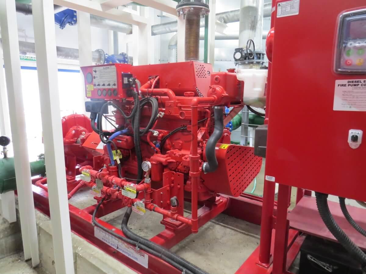 МЕГА-СТРОЙ – насосная станция пожаротушения с надземными резервуарами