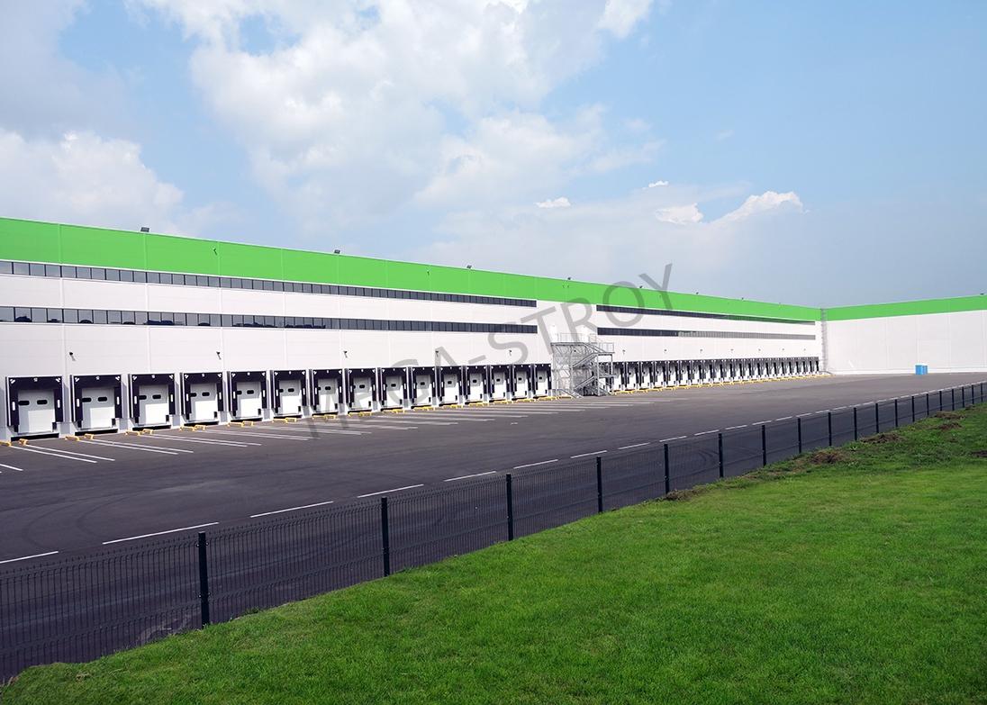 МЕГА-СТРОЙ – строительство складского и дистрибьюторского комплекса «Леруа Мерлен» со встроенными административно-бытовыми помещениями