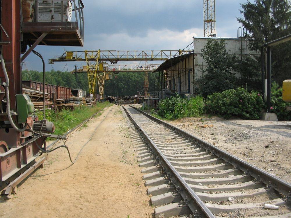 МЕГА-СТРОЙ – подъездные пути на земле под склад