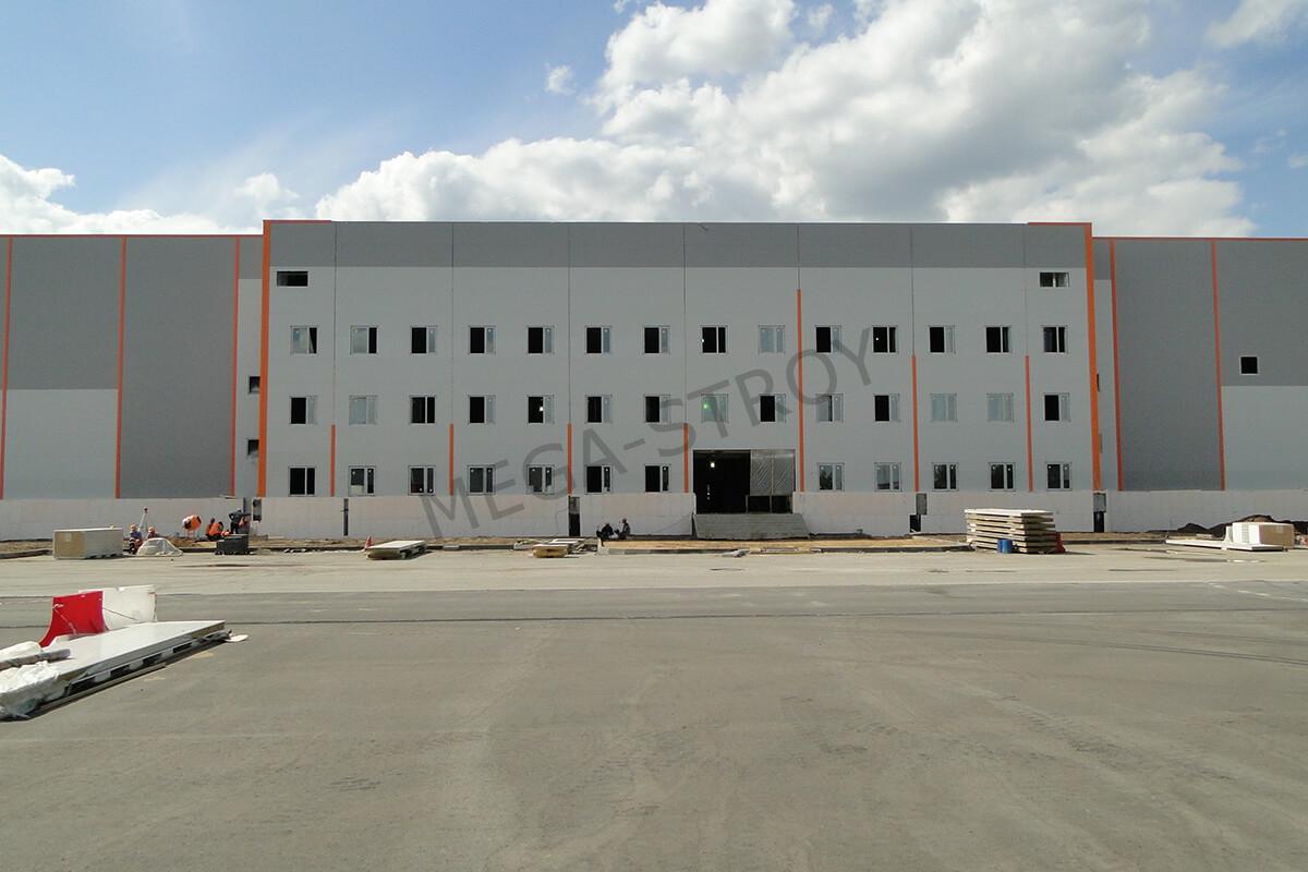 промышленное строительство сооружений