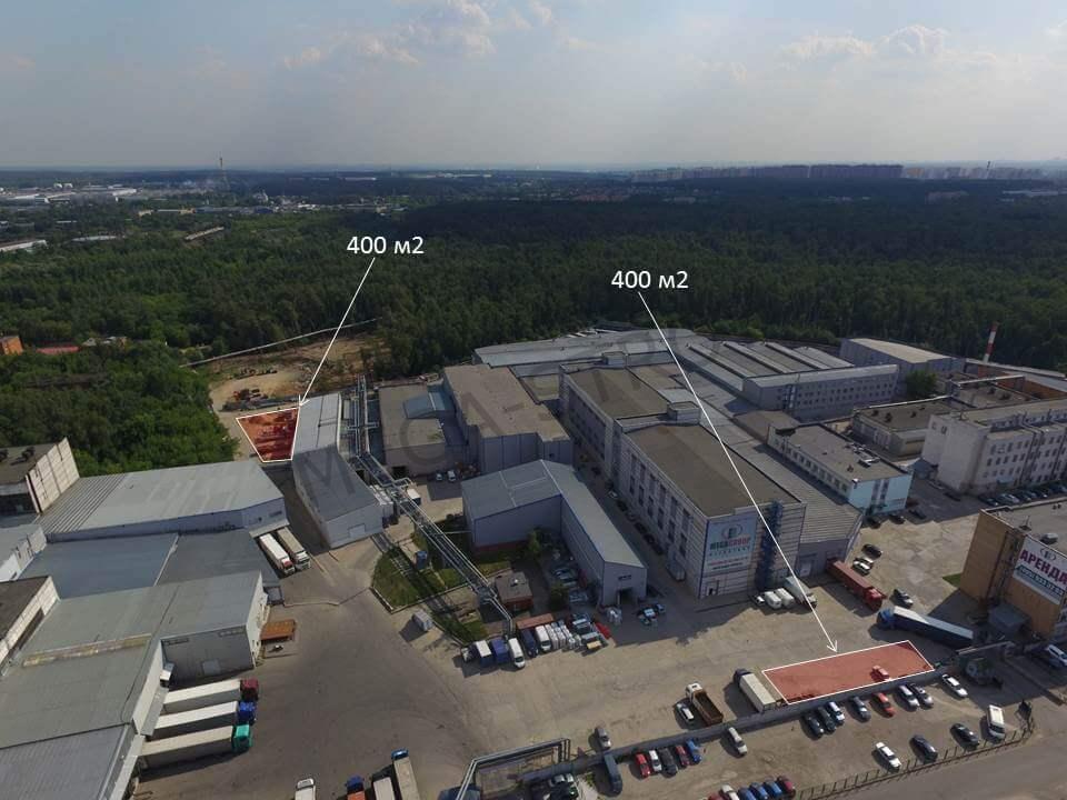 МЕГА-СТРОЙ – аренда открытой площадки 400 м2 Видное
