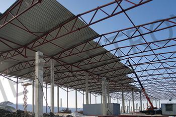 Строительство быстровозводимых зданий из металлоконструкций