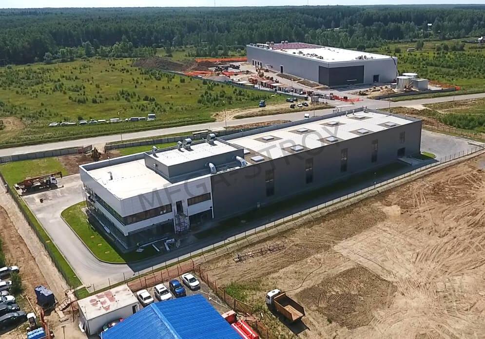МЕГА-СТРОЙ – проектирование, строительство и сдача в эксплуатацию производственно-складского комплекса Phoenix Contact