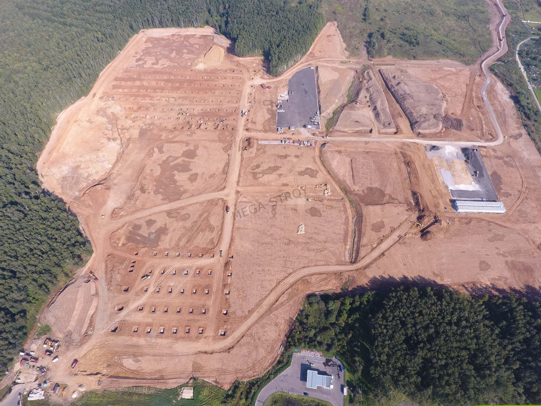 МЕГА-СТРОЙ – земляные работы по планировке участка для компании Ашан
