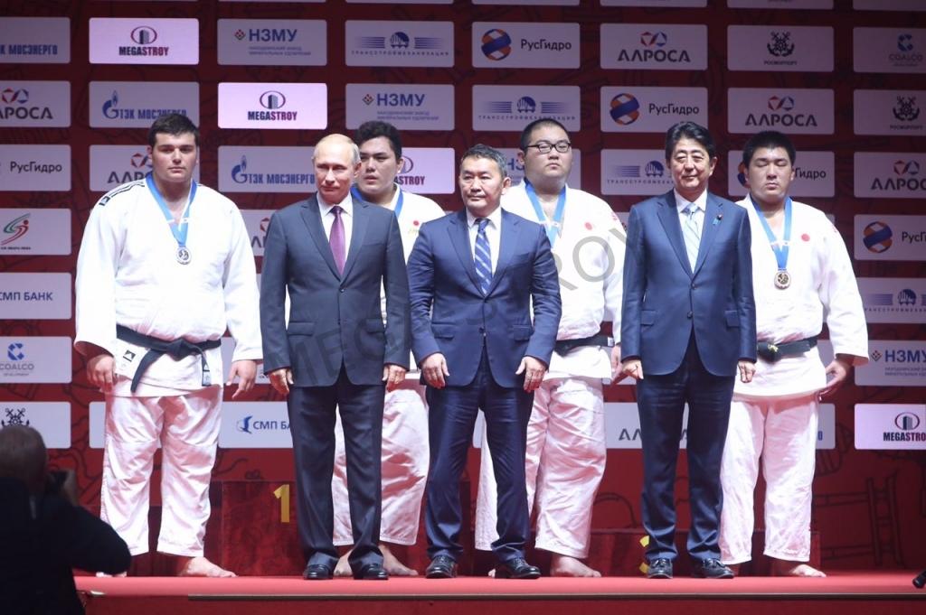 МЕГА-СТРОЙ - турнир по дзюдо в рамках ВЭФ-17