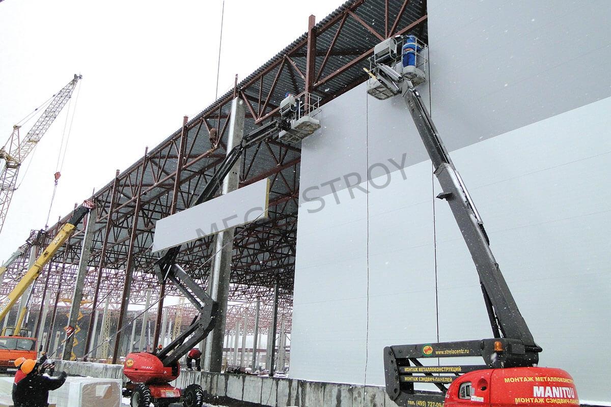 МЕГА-СТРОЙ – строительство складов из сэндвич-панелей