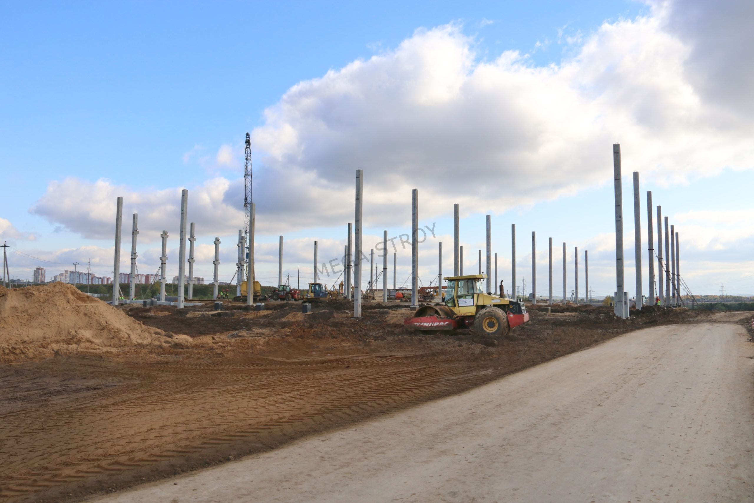 МЕГА-СТРОЙ - mEGASTROY активно строит для «Марин Экспресс»